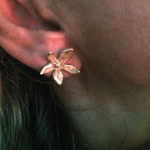 flower power earrings-Natalie Barat Design