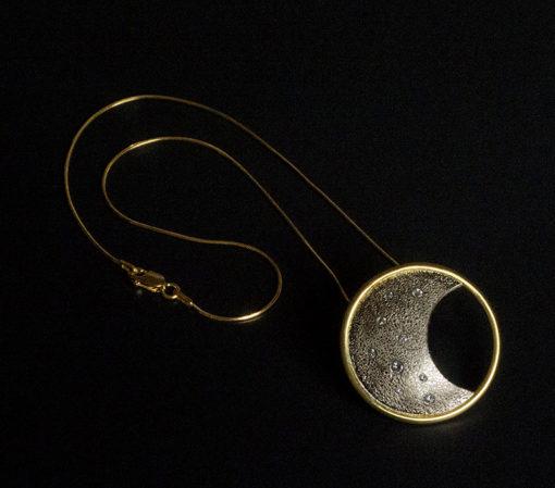Eclipse Luna award winner pendant-Natalie Barat Design