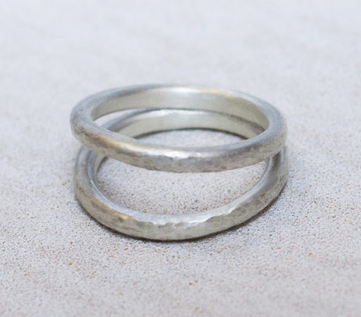 joined at the hip silver ring-Natalie Barat Design