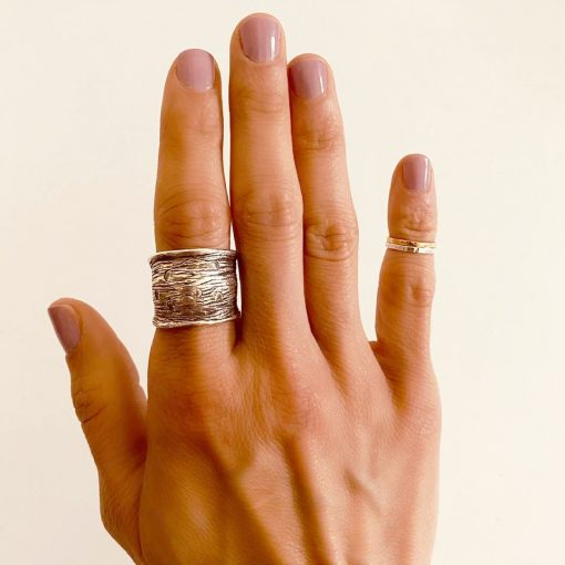 Rings on actual happy customer
