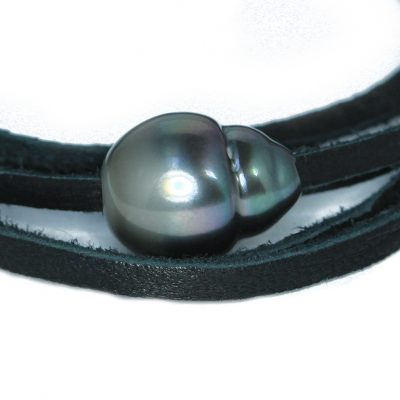 Tahitian pearl wrap choker-bracelet-Natalie Barat Design