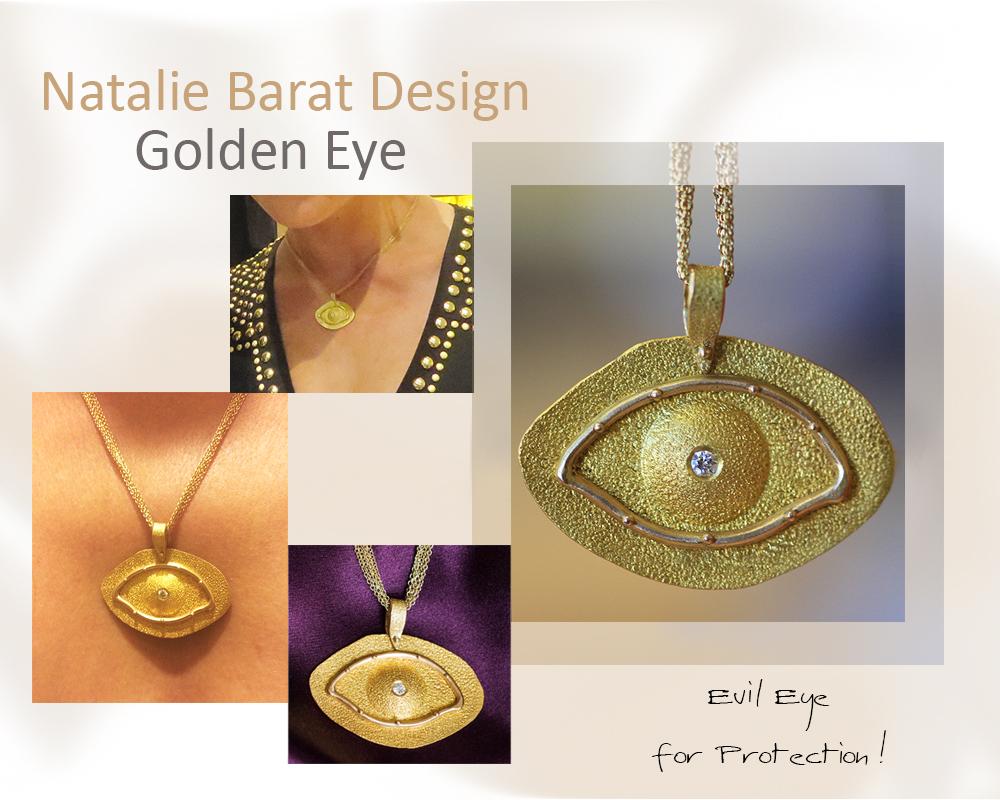 Golden Evil Eye
