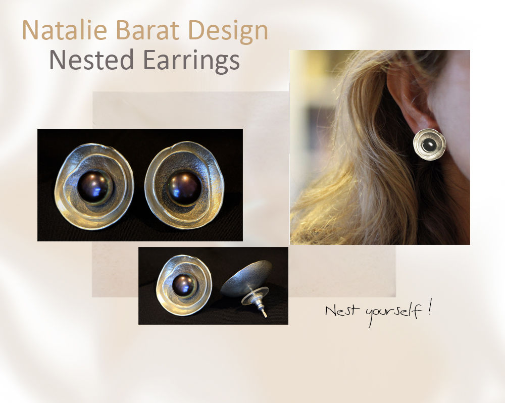 Nested earrings