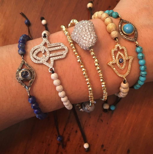 assorted bracelets Natalie Barat Design