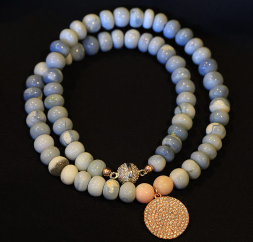 Blue Opal necklace-Natalie Barat Design