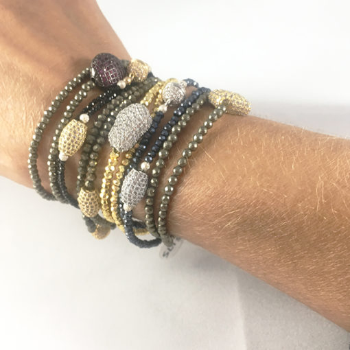 assorted double bracelets Natalie Barat Design