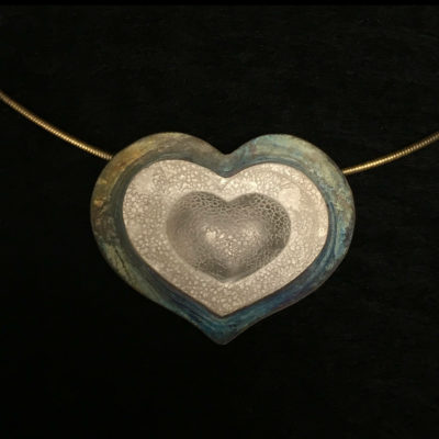 Heart necklace-Natalie Barat Design