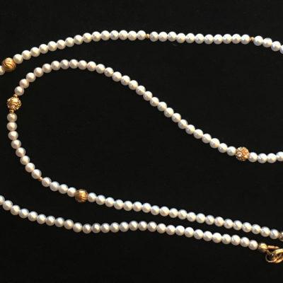 south sea pearl-diamonds-18K gold-necklace