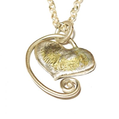 Molten Heart Necklace