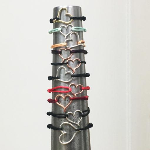 Open Heart bracelets- Natalie Barat Design
