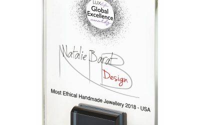 Most Ethical Handmade Jewelry 2018 Award Winner