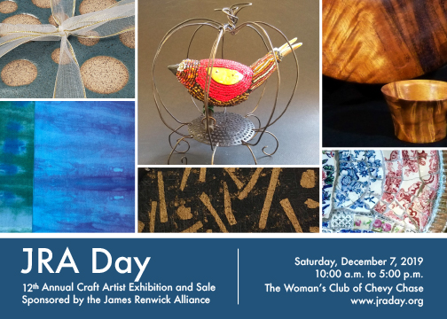 JRA Day 12th Annual Craft Artist Exhibition and Sale