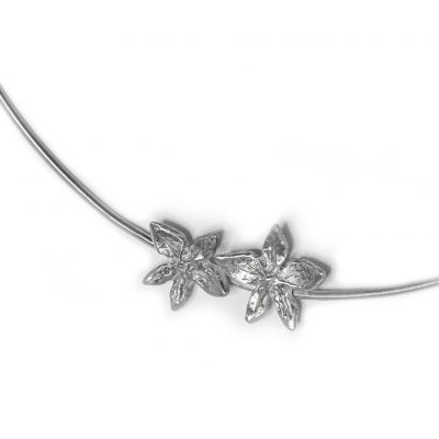 Double Flower Power neck wire