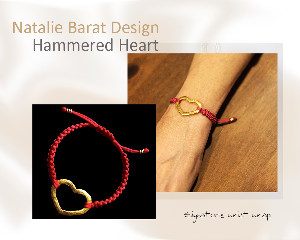 Hammered Signature Heart