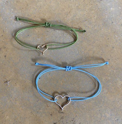 Mini heart bracelets